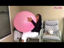 Giant Pink Balloon 🎈 Blow to Pop (B2P)!!