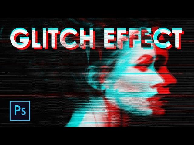 Membuat Efek Monitor Rusak pada Foto (GLITCH EFFECT) dengan Photoshop - Photoshop Tutorial Indonesia
