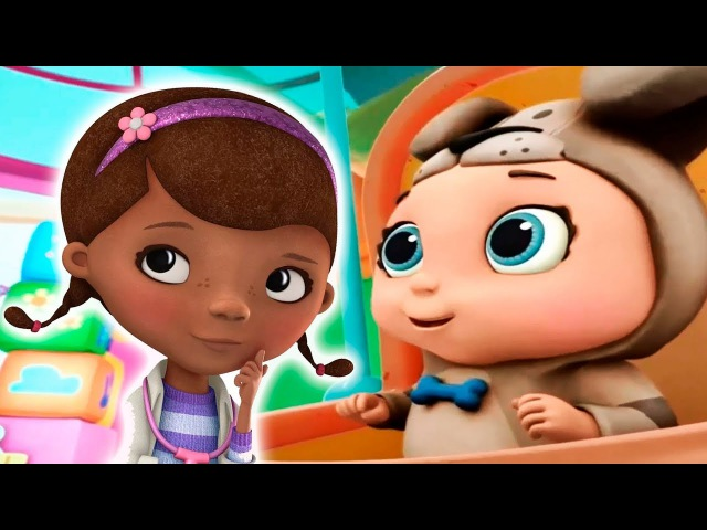Doc McStuffins: Baby Nursery Toy Hospital baby care Games for Children