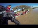 Sumergiendo Honda XR150 Y XR250 Tornado ENDURO La Pampa Juli Perez