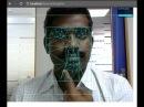 Face tracking Javascript WebRTC API OpenCV