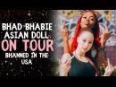 BHAD BHABIE Asian Doll on Tour Q A sesh | Danielle Bregoli