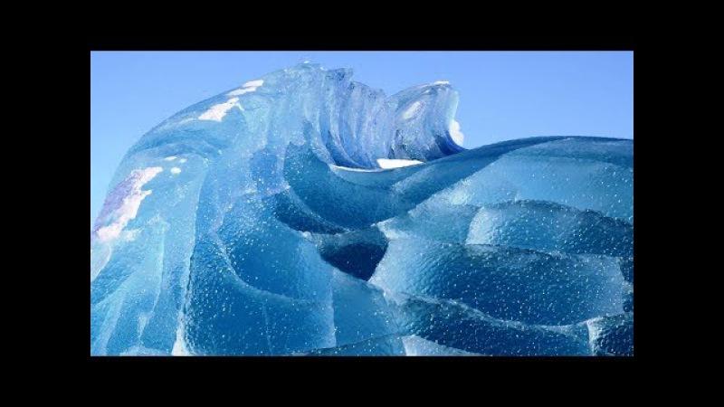 Кто режет лед в Антарктиде? Как и ЗАЧЕМ это делается?