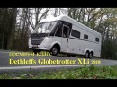 ЛЮКС автодом для зимы и лета Трехосный Dethleffs Globetrotter XLi Германия Подробный обзор