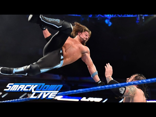 Матч: Бэрон Корбин пр. Эй Джея Стайлза нападение на Чемпиона, с минувшего эпизода «SmackDown» Live! за 20 - е Февраля.