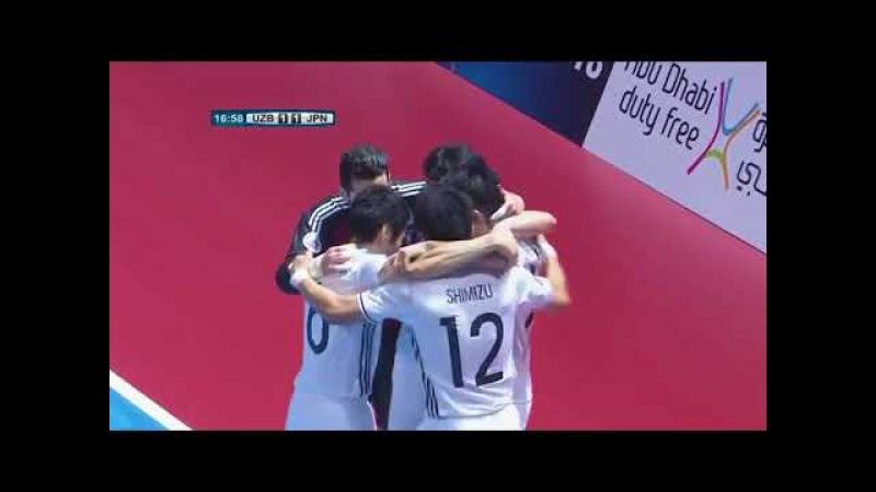 Uzbekistan 2-4 Japan AFC Futsal Championship 2018 || O'ZBEKISTON – YAPONIYA 2-4