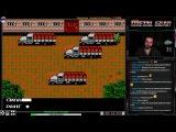 Metal Gear прохождение 100 Игра на (Dendy, Nes, Famicom, 8 bit) Konami 1987 Стрим HD RUS