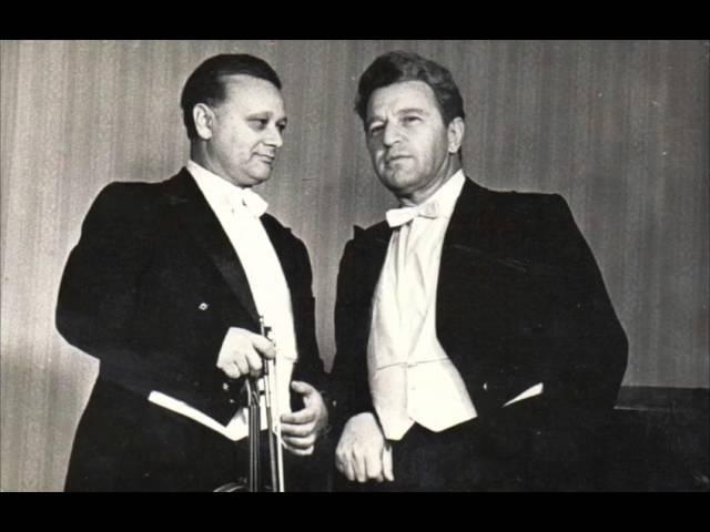 Boris Goldstein plays Schumann Violin Sonata 3 and Liszt - LP transfer