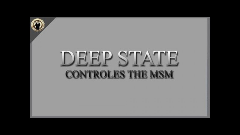 "Anonymous: ""Deep State"" Allies Now Controlling The Entire US Mainstream Media"