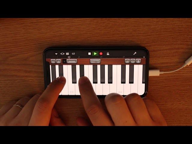 Imagine Dragons - Believer on iPhone (GarageBand)