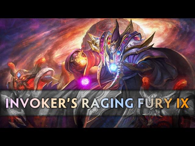 Dota 2 Invokers Raging Fury 9