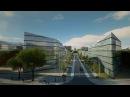 Zaha Hadid Architects конкурсный проект реновации района Кузьминки