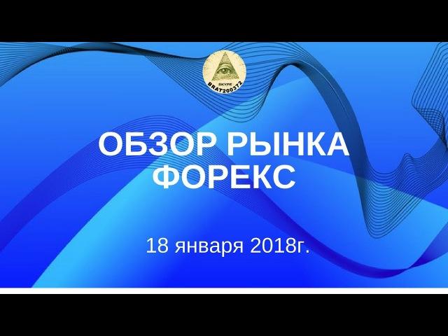 Обзор форекс мажоры 18.01.2018