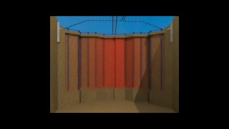 Грунтовые аккумуляторы= 100солнечное отопление поселка, дома, крупного объекта
