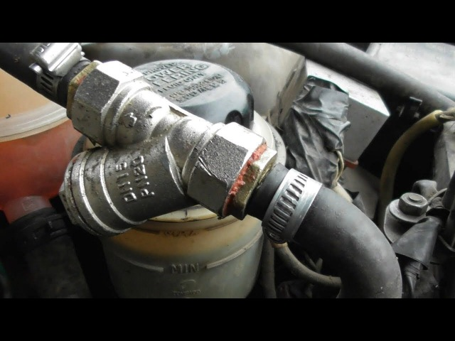 Печка в авто будет греть.(Cooling an auto)Многоразовый фильтр охлаждающей жидкости