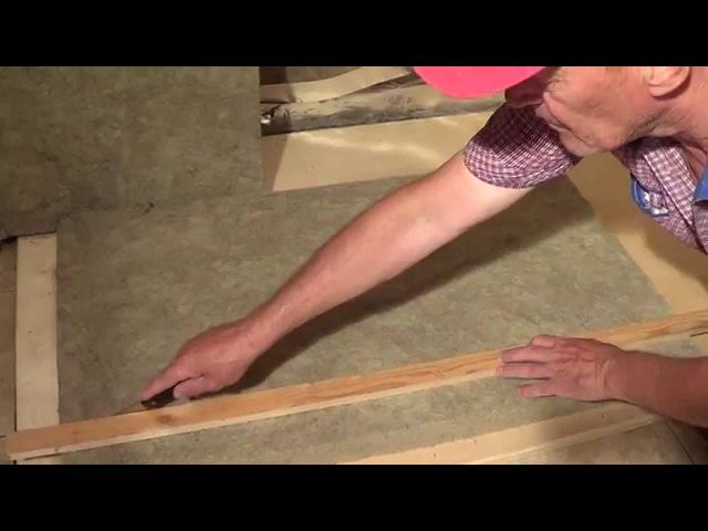 Утепление и обивка фольгой парилки. Часть 1. (Thermal insulation and steam room foil upholstery - 1)