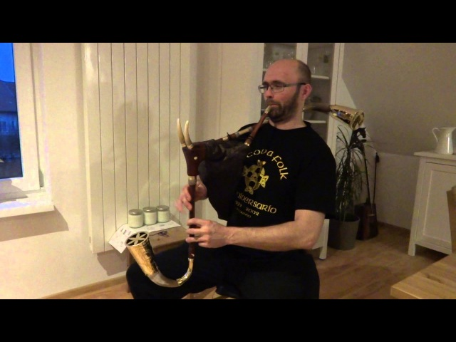 Queen Anna´s Singing Fountain Bagpipe