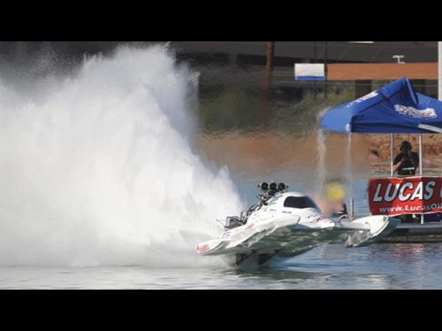 КАТЕРА с V8 Водный дрэг рейсинг - Top Fuel boats