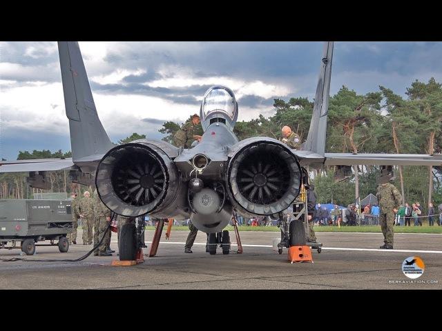Запуск двигателя на военных самолетах. Реактивные vs Поршневые.