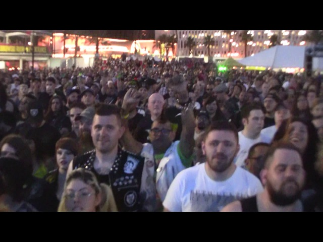 CHOKING VICTIM PUNK ROCK BOWLING 2017 PRB 5 28 17 LAS VEGAS NV VULTURE VIDEO