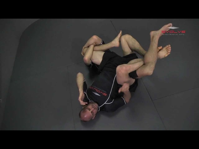 BJJ: Shinya Aoki BRUTAL Banana Split Submission | Evolve University
