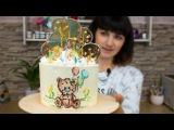 (https://vk.com/lakomkavk) Детский кремовый торт с ?леденцами - Я - ТОРТодел!