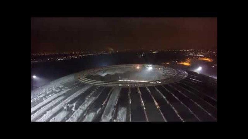 Строительство стадиона к ЧМ 2018 в Самаре / The construction of the stadium in Samara