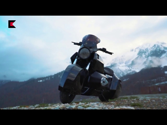 Russian heavy motorbike IZh (concept)
