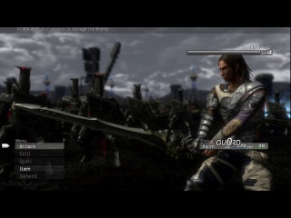 Lost Odyssey - Xbox One X Backwards Compatibility | 11 Minutes of Gameplay (2160p 60fps)