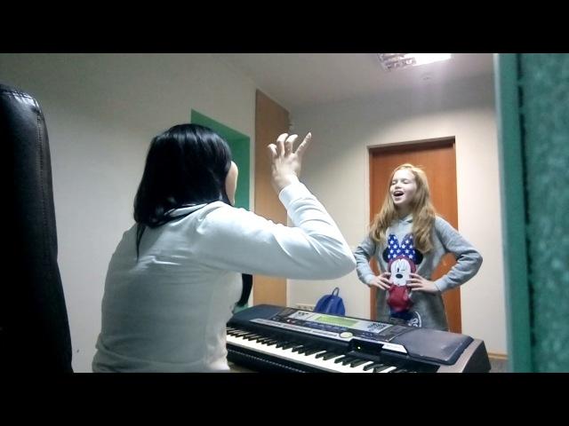 Урок вокала. Анастасия Багинская. Вокальный нос