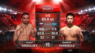 Yusup Saadulaev vs. Khabibula Mansur / Юсуп Саадулаев vs. Хабибула Мансур