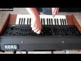 KORG MAXI-KORG 800DV Duophonic Analog Synthesizer (1975) some sounds
