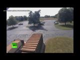 Легкомоторный самолёт врезался в дерево в США