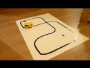 Робот трек-машинка
