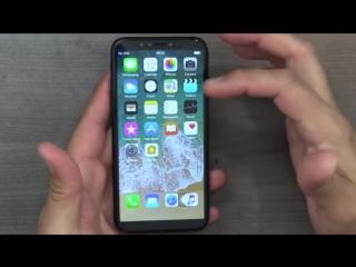 Реплика (копия) iPhone X обзор распаковка