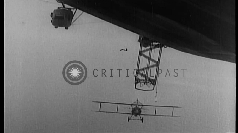 US President Herbert Hoover reviews U.S. Navy fleet maneuvers off Virginia Capes. HD Stock Footage