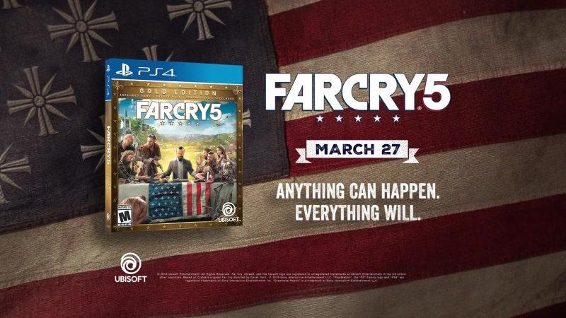 Far Cry 5 Anything Can Happen, Everything Will - Live Action TV Spot Trailer Ubisoft [US]