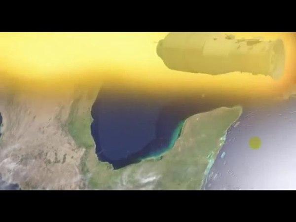 Китайская космическая станция упала в южной части Тихого океана