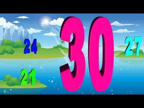 Dạy bé học đếm số - dạy bé học đếm - dạy số đếm cho bé - bé học đếm số tiếng việt