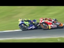 2017 AustralianGP - Yamaha in action