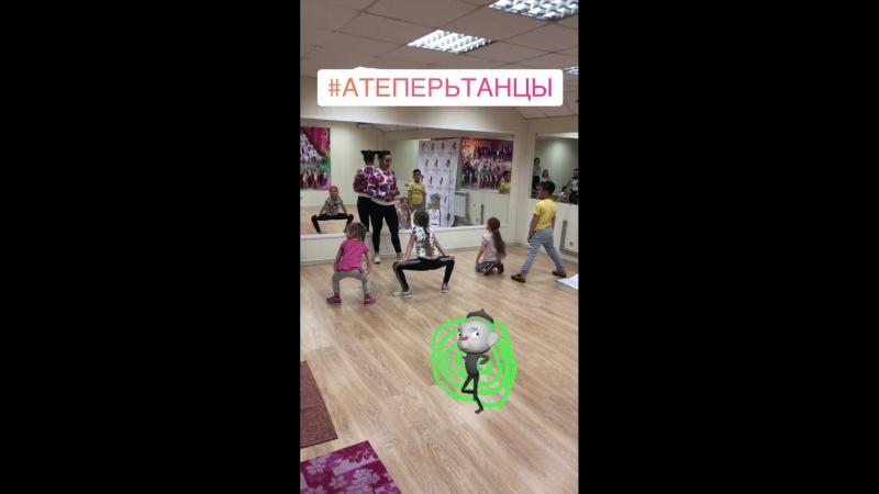 Открытый урок по хореографии