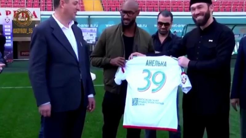 АХМАТ-СИЛА! Настоящие любители футбола ⚽️ хорошо знают французского 🇫🇷 нападающего Николя Анелька