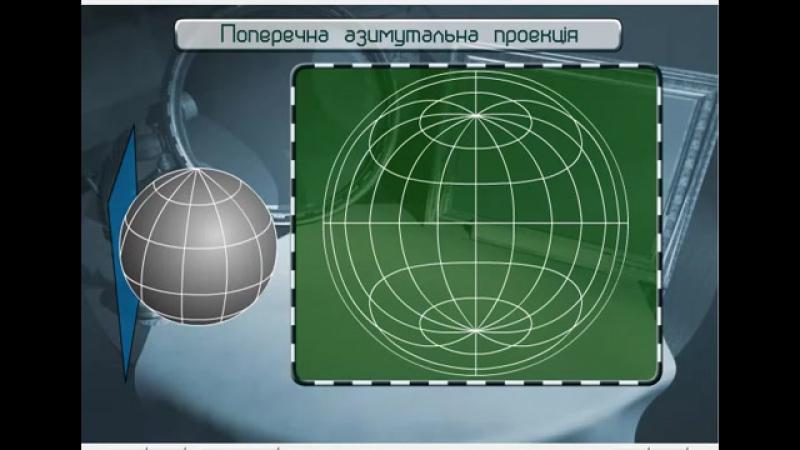 Картографічні проекції та види спотворень на картах