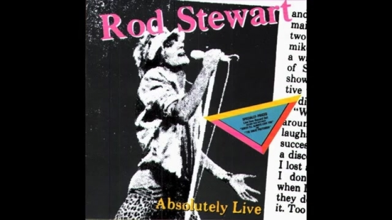 ROD STEWART - THE GREAT PRETENDER (live) - VINYL