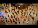 Флешмоб с актерами сериала «Сальса» в Афимолле. Выход сериала 3 января на Первом канале. Репост!