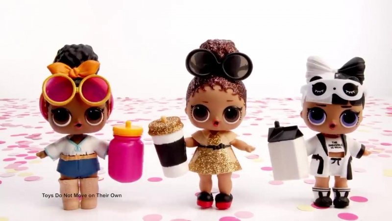 L.O.L. Surprise! - Series 3 Confetti Pop Tots Dolls Unboxing Balls - -30 Commercial