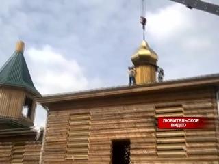 В Большеулуйском районе восстанавливают церковь