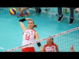 Top 15 The BEST Volleyball Moments by Eda Dündar - EUROVOLLEY 2017 - Turkish Volleyball