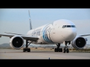 Boeing 777-300ER high power engine run
