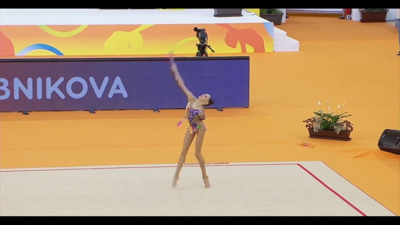 Дарья Трубникова - булавы (квалификация) Чемпионат Европы 2018